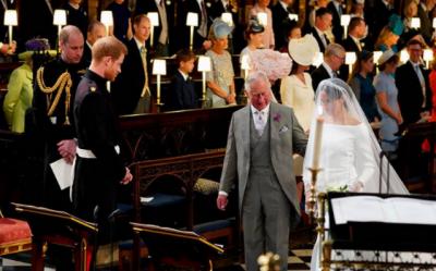 برطانوی شہزادے ہیری اور امریکی اداکارہ میگھن مارکل شادی کے بندھن میں بندھ گئے، تقریب میں 600 مہمانوں کو مدعو کیا گیا
