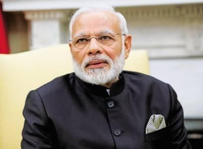 بھارتی وزیر اعظم نریندر مودی نے مقبوضہ کشمیر میں متنازع کشن گنگا ہائیڈرو پاور پروجیکٹ کا افتتاح کر دیا