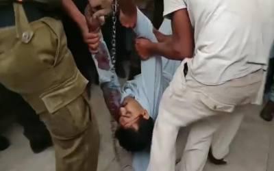 لاہور کی ضلع کچہری میں فائرنگ سے قتل کا ملزم ہلاک
