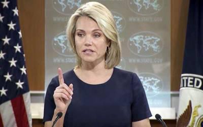 امریکا پاکستان میں شفاف انتخابات کی توقع رکھتا ہے۔ امریکی محکمہ خارجہ