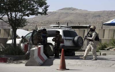 افغان دارالحکومت کابل میں وزارت داخلہ کی عمارت پر طالبان کا حملہ