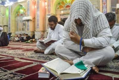 اعتکاف کی سعادت اور رضاالہی کے متشنی لاکھوں فرزندان اسلام ملک بھر کی مختلف مساجد میں اعتکاف بیٹھے ہیں