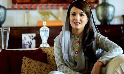 Then the veil book created happiness in domestic politics: Reham Khan