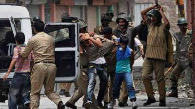 The occupation of Indian occupied Kashmir in the occupied Kashmir Valley has reached the rise