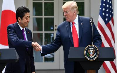 جاپان اور امریکاکا شمالی کوریا سے ایٹمی اسلحے کے خاتمے کا مطالبہ کرنے پر اتفاق