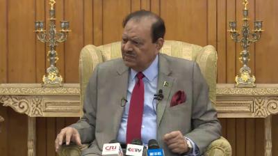 SCO plays vital role in safeguarding peace, security of region: Pakistani president