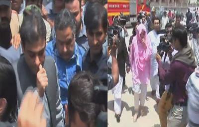 The Supreme Court heard the decision of Hamza Shahbaz and Ayesha Ahad.