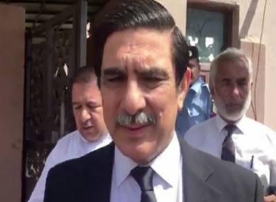 احتساب عدالت اسلام آباد میں نواز شریف کے وکیل خواجہ حارث نے نیب ریفرنسز میں وکالت نامہ واپس لے لیا
