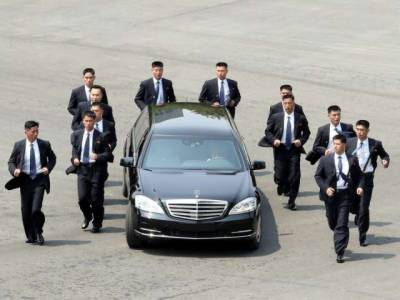 Everything we know about Kim Jong-un's running bodyguards