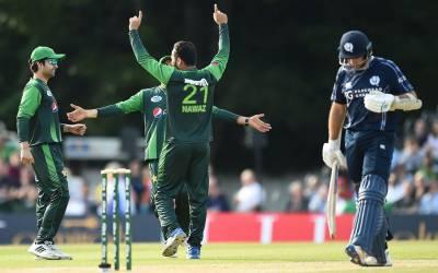 پاکستان اور اسکاٹ لینڈ کے درمیان دوسرا اور آخری ٹی ٹونٹی آج ایڈنبرا میں کھیلا جائے گا۔