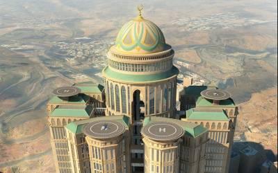 سعودی عرب میں مشرق وسطیٰ اور شمالی افریقہ سے زیادہ ہوٹل