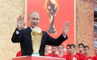 روسی صدر پیوٹن نے ملک میں فیفا ورلڈ کپ کے آغاز پر فٹ بال کی عالمی تنظیم کا شکریہ ادا کیا