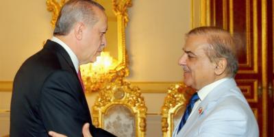 صدر مسلم لیگ ن  میاں شہباز شریف کا ترکی کے صدر طیب اردگانکے ساتھ ٹیلیفونک رابط