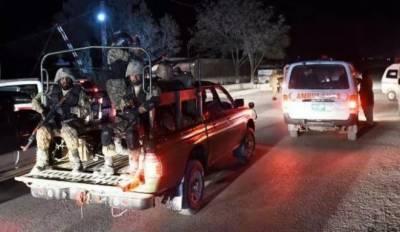 کوئٹہ میں دہشتگردوں نے خوشیوں کے دن کو غمی میں بدل دیا، لیویز کی گاڑی پر فائرنگ کے نتیجے میں اہلکار سمیت تین افراد شہید