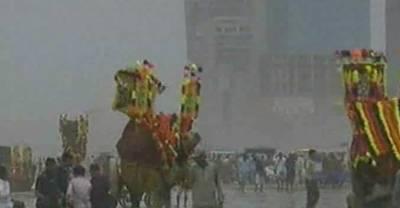 کراچی میں عیدالفطر پر شہریوں نے سی ویو کا رخ کرلیا