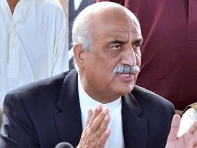 کالا باغ ڈیم بنانے کی طاقت کسی کے باپ میں نہیں :- خورشید احمدشاہ