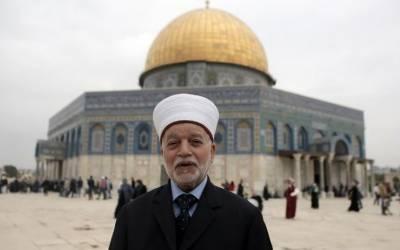 مسلمانوں کے قبلہ اول کا وجود خطرے میں ہے۔ فلسطینی مفتی اعظم