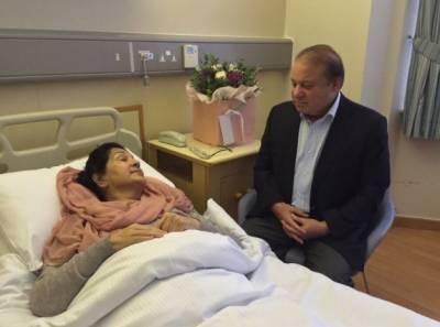 اہلیہ وینٹی لیٹر پر ہیں اس کے باوجود صرف چار دن کا استثنیٰ ملا۔ سابق وزیراعظم نواز شریف