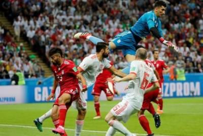 فیفا ورلڈ کپ: سپین نے ایران کو ایک صفر سے شکست دے دی