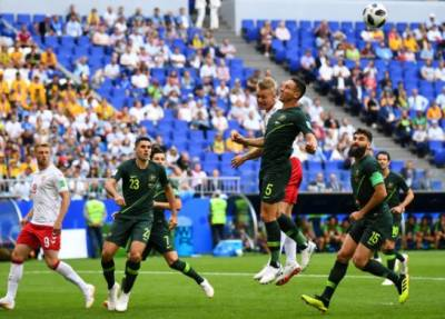 فیفا ورلڈ کپ: ڈنمارک اورآسٹریلیا کے درمیان میچ ہارجیت کے فیصلے کے بغیر ایک ایک گول سے برابر ہوگیا