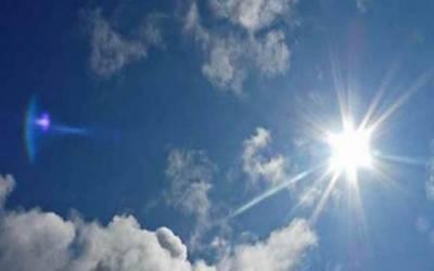 ملک کے مختلف شہروں میں سورج کے آگ برسانے کا سلسلہ جاری