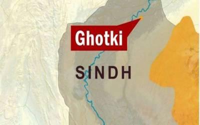 گھوٹکی میں بس مسافر کوٹ الٹنے سے 3 مسافر جاں بحق، 28 زخمی