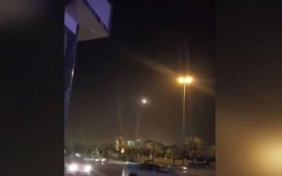 سعودی فوج نے حوثی باغیوں کا میزائل حملہ ناکام بنادیا، 2 فضا میں ہی تباہ کر دیئے۔