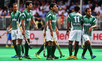 Pakistan Bad performance in hockey championship.