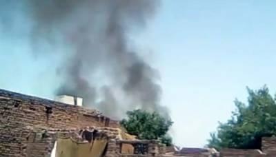 پشاور: جنگی طیارہ کریش لینڈنگ کے دوران تباہ
