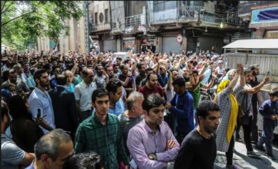 ،ہزاروں افراد کا بڑھتی قیمتوں اور کرنسی کی قدر میں کمی پر حکومت کیخلاف شدید احتجاج