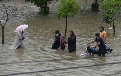 پنجاب کے مختلف شہروں میں بارش نے تباہی مچادی۔