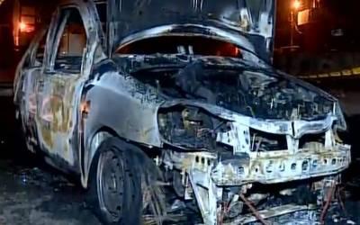 سعودی عرب:شرپسندوں نے خاتون کی گاڑی کو آگ لگادی۔