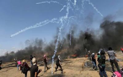 غزہ: فلسطینیوں کے آتش گیر جہازوں سے اسرائیل کو 25 لاکھ ڈالر کا نقصان