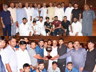 فرانس پاکستان ایسو سی ایشن کے آٹھویں سالانہ ٹورنامنٹ کا فائینل گجر کلب نے جیت لیا۔
