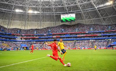 فٹبال ورلڈ کپ2018: انگلینڈ نے سویڈن کوواپسی کاٹکٹ تھما دیا