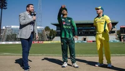 آسٹریلیا کا پاکستان کیخلاف ٹاس جیت کر بیٹنگ کا فیصلہ