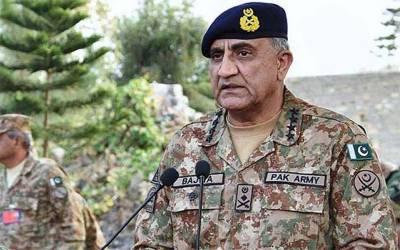 ہم دشمن قوتوں کے گٹھ جوڑ سے لڑ رہے ہیں جنہیں پر امن پاکستان ہضم نہیں ہوتا۔ آرمی چیف