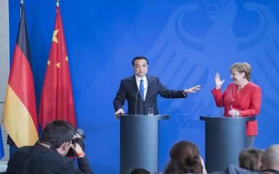 جرمنی و چین کے درمیان 20 ارب یورو کے تجارتی معاہدے