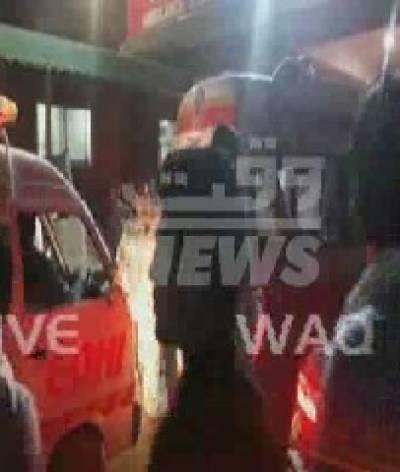 پشاور میں خودکش حملے کے بعد جاں بحق ہونے والوں کی تعداد اکیس ہوگئ
