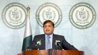 کشمیر پاکستان کی خارجہ پالیسی کا اہم ستون ہے، کشمیر پالیسی میں کسی قسم کی کوئی تبدیلی نہیں آئی۔ محمد فیصل