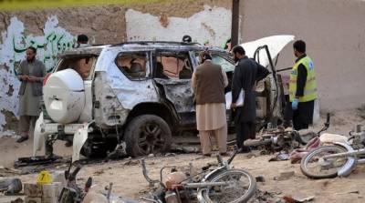 مستونگ میں انتخابی مہم میں بم دھماکے میں سراج رئیسانی سمیت ایک سو انسٹھ افراد جاں بحق