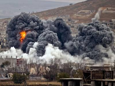 امریکی اتحاد کی فضائی بمباری ، 54 افراد جاں بحق:شام