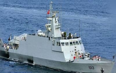 پاک بحریہ کے جہاز پی این ایس اصلت کا الجائرز کا دورہ