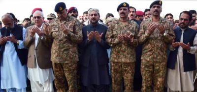 آرمی چیف جنرل قمرجاوید باجوہ نے سراج رئیسانی کو 'پاکستان کا سپاہی' قرار دے دیا