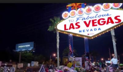 امریکی شہر لاس ویگاس میں پولیس کی بروقت کارروائی نے ڈکیتی کے بعد فرار ہونے والوں کو انجام تک پہنچا دیا،