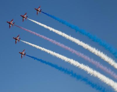 برطانیہ میں بین الاقوامی ایئر شو جاری ہے