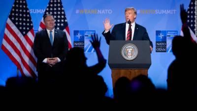 نیٹو اتحاد کو مضبوط بنا دیا۔ امریکی صدر