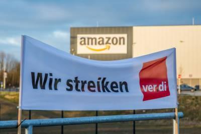جرمنی میں ایمیزون کے ڈھائی ہزار کارکنوں کی ہڑتال
