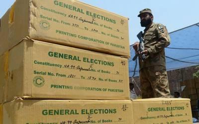 عام انتخابات: الیکشن ڈیوٹی پر تعینات پولیس اہلکاروں کو ضروری آلات ، سازو سامان کی فراہمی شروع