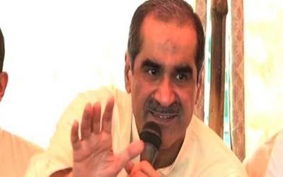 نواز شریف کا اصل جرم پاکستان کو امریکا بہادرکی غلامی سے آزاد کرانا ہے۔ سعد رفیق